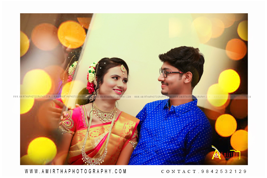 Vikram Weds Keerthiga Candid Photography in kovilpatti